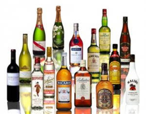 Alcohol - Liquor_bottles